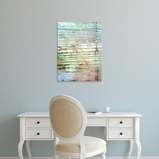 Easy Art Prints Danielle Harrington's 'Beach Reflections II' Premium Canvas Art