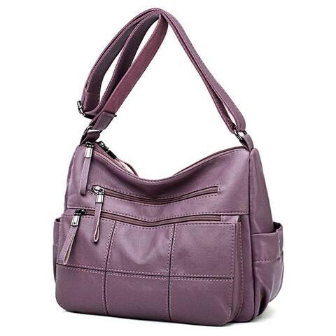 Ladies Handbags Leather Shoulder Crossbody Bags