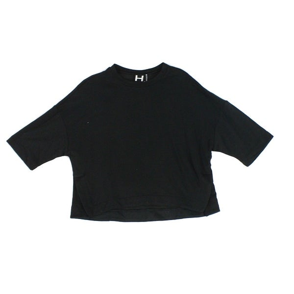 3f1ed302540 Shop H By Bordeaux Deep Women's Small Boxy Fit Crop Top - Free Shipping On  Orders Over $45 - Overstock - 27062098