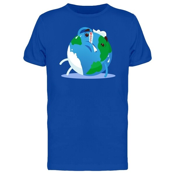 Shop Unhappy Planet Earth Tired Tee Men S Image By Shutterstock