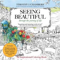 Seeing Beautiful Adult Coloring Book - Majestic Expressions