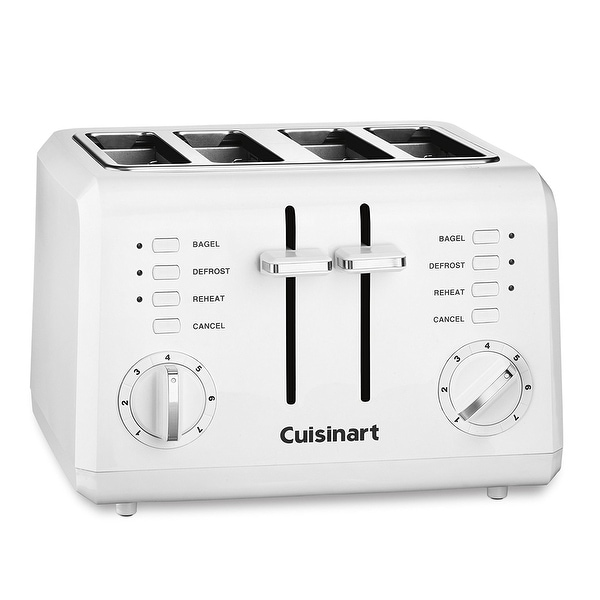 Shop Cuisinart Cpt 142 Compact 4 Slice Toaster White