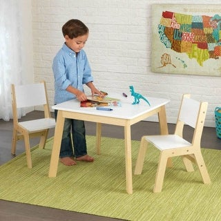 KidKraft: Modern Table & 2 Chairs Set