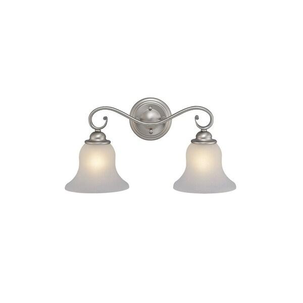 """Vaxcel Lighting VL35472 Monrovia 2-Light Bathroom Vanity Light - 12.63"""" Wide"""