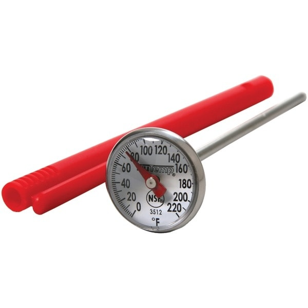 """TAYLOR 3512 Instant Read 1"""" Dial Thermometer"""