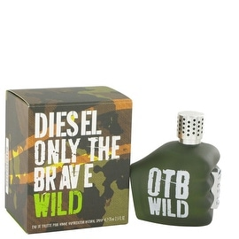 Only The Brave Wild by Diesel Eau De Toilette Spray 2.5 oz - Men