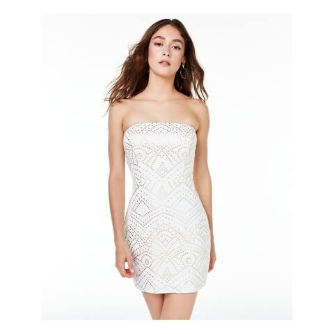 JUMP White Sleeveless Short Dress M