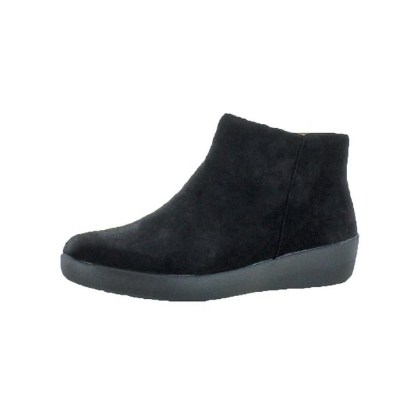 b1f0cf3dfceb5d Shop Fitflop Womens Sumi Booties SupercomFF Ankle - Free Shipping ...