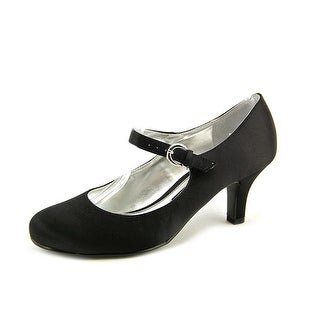 Chinese Laundry Paloma Women Round Toe Canvas Black Mary Janes