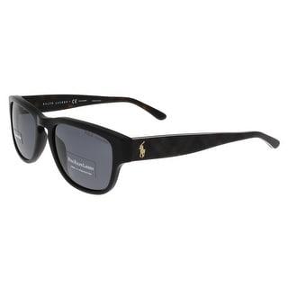 Ralph Lauren PH4086 551881 Vintage Black Wayfarer Sunglasses