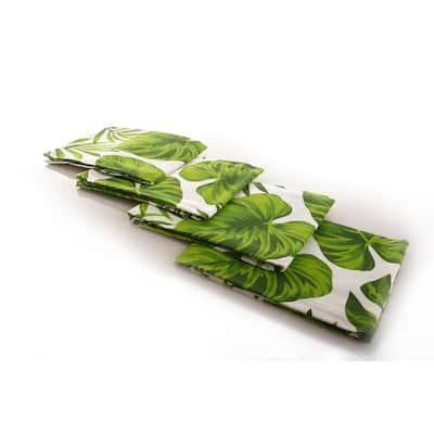Premium Cotton Tropical Hand Towel- Kitchen Dish Towel- Tea Towel - Flour Sack Towel