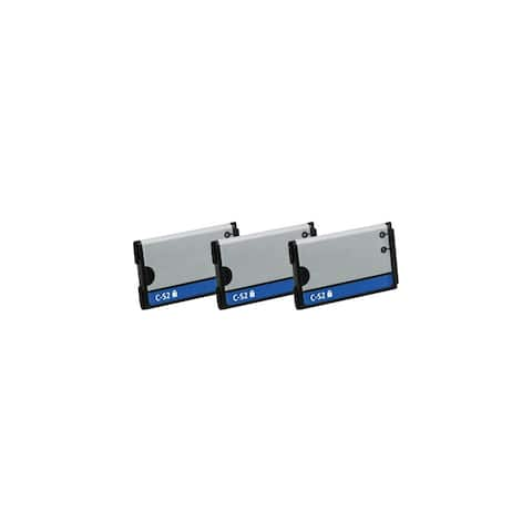 Replacement Battery C-S2 for Blackberry 7100 / Curve 8320 Phone Models (3 Pk)
