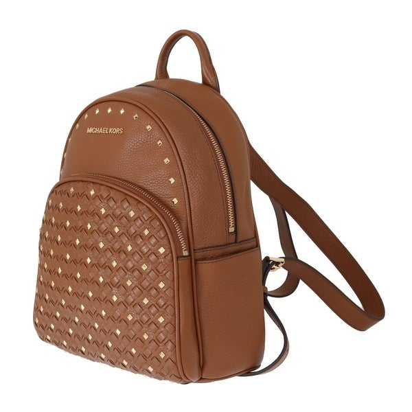 7f8c73d1f761 Shop Michael Kors Handbags Brown ABBEY Studded Backpack - One Size ...