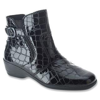 Spring Step Jacey II - black croco leather