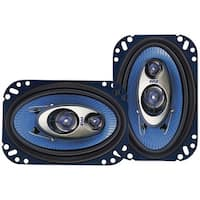 "PYLE PRO PL463BL Blue Label Speakers (4"" x 6"", 3 Way)"
