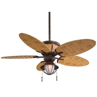 "MinkaAire Shangri-La 5 blade 52"" Indoor / Outdoor Ceiling Fan - Light and Blades Included"