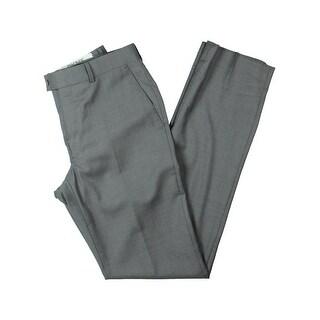 DKNY Mens Dress Pants Wool Slim Fit - 29