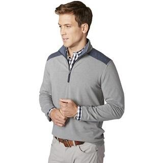 Tailor Vintage 1/4 Zip Performance Long Sleeve Jersey Shirt Medium M Sweatshirt