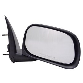 Pilot Automotive TYC 4330141 Black Passenger/ Driver Side Power Heated Replacement Mirror for Dodge Durango