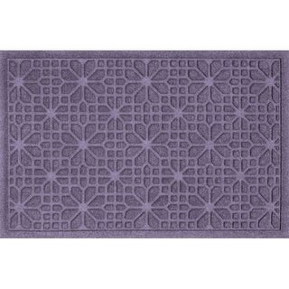 707580023 Water Guard Stained Glass Mat in Bluestone - 2 ft. x 3 ft.
