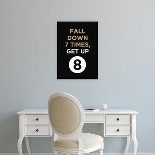 Easy Art Prints GraphINC's 'Fall Down' Premium Canvas Art