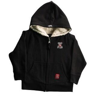 Case IH Little Boy's Zip-Up Sherpa Hoodie
