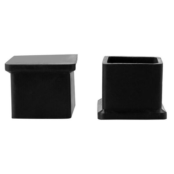 "Desk Leg Caps End Tip Home Furniture Protector 2pcs 0.87""x0.87"" (22x22mm)"