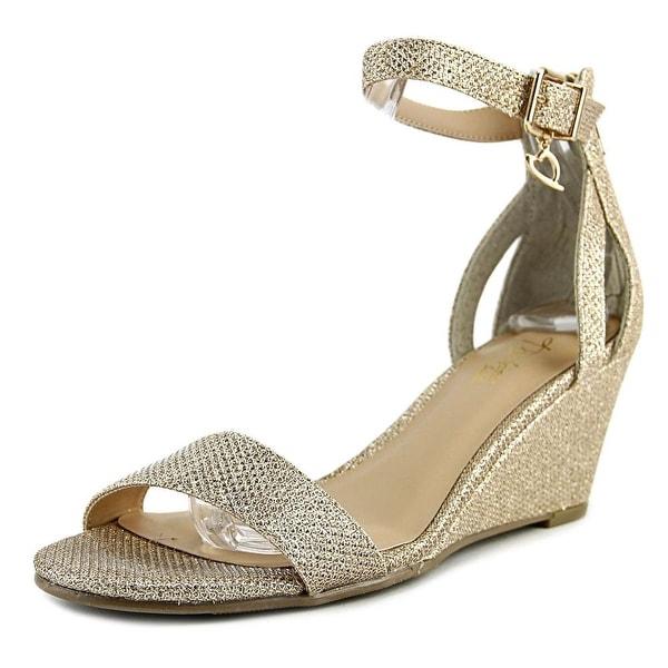 Thalia Sodi Areyana Women Gold Sandals