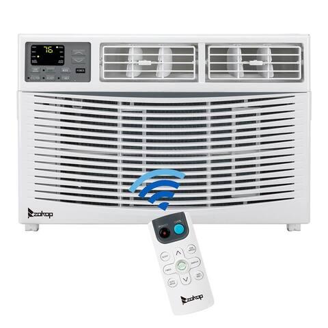 ZOKOP 8000BTU Window Air Conditioner, White