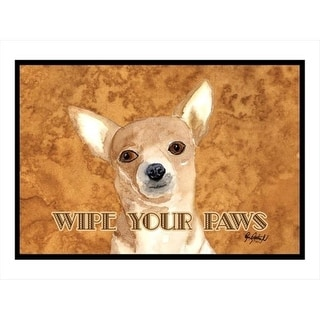 Carolines Treasures RDR3020JMAT 24 x 36 in. Chihuahua Indoor Or Outdoor Mat