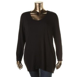 Lysse Womens Plus Modal Long Sleeves Pullover Top - 3X