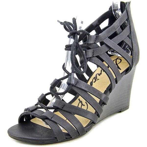 American Rag Kyle Women Open Toe Synthetic Wedge Sandal