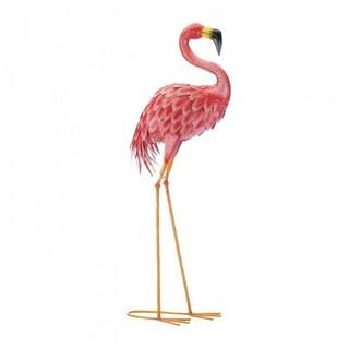 Set of 2 Bright Standing Flamingos