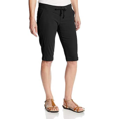 Columbia Women's Anytime Outdoor Long Short, Black, 12x13