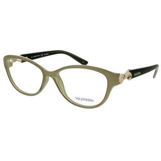 Valentino V2672 319 Sage Oval Valentino Eyewear