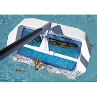 Swivel Skim Elite™ Swimming Pool Bi-Directional Floating Skimmer - Fits Most Poles - White