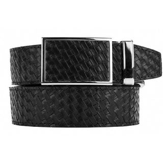Nexbelt Go-In! Basket Weave Black Ratchet Golf Belt