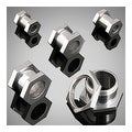 Surgical Surgical Steel Screw Fit Hexagon Flesh Tunnel (Sold Individually) - Thumbnail 0