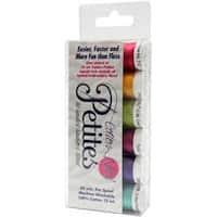 Bright Colors Assortment - Sulky Sampler 12Wt Cotton Petites 6/Pkg
