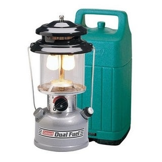 Coleman 765322 Premium Dual Fuel Lantern with Hard Carry Case