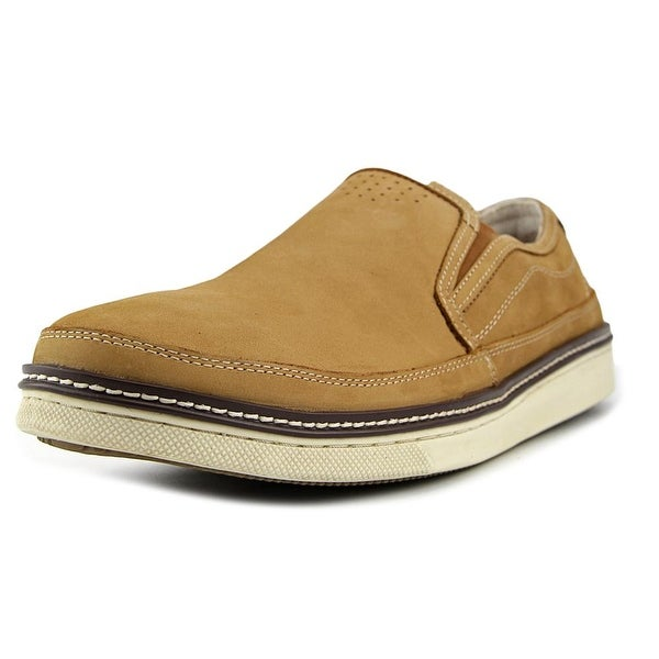 GH Bass & Co Jerry Men Round Toe Leather Tan Loafer