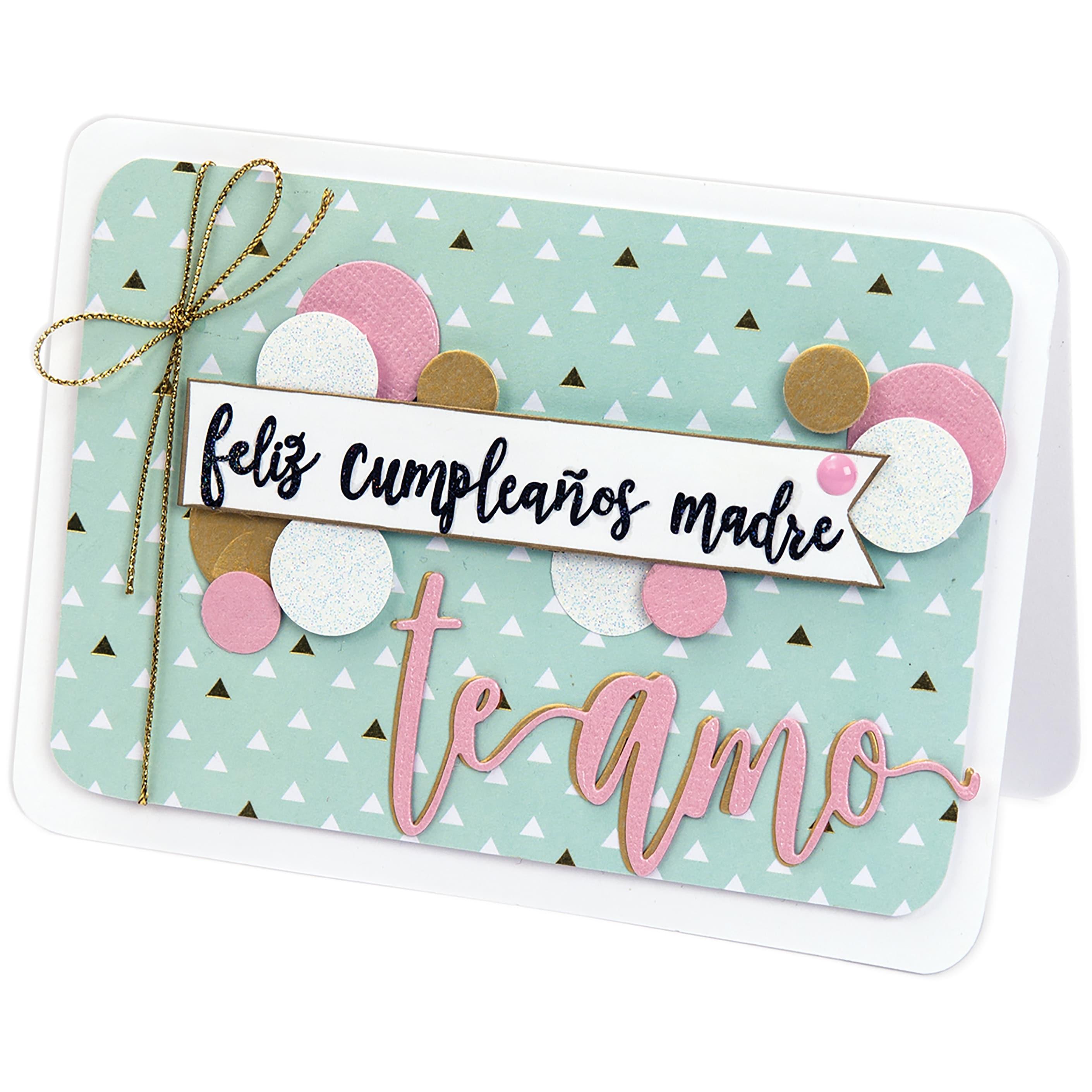 Sizzix Clear Stamps By Luisa Elena Guillen-Feliz Happy