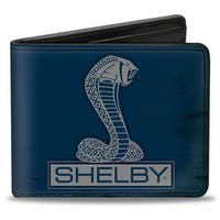 Shelby Tiffany Box Weathered Navy Gray Bi Fold Wallet - One Size Fits most