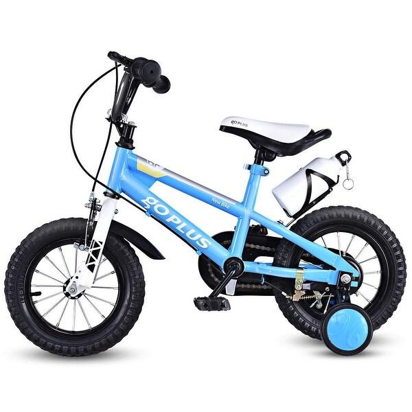 9b2d947539e Shop Goplus 12'' Freestyle Kids Bike Bicycle Children Boys & Girls w ...