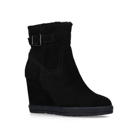 Aldo Womens Praolith Suede Closed Toe Ankle Fashion Boots