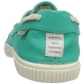 Keen Womens Maderas Canvas Casual Boat Shoes - 9.5 medium (b,m)