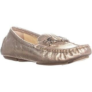Donald J Pliner Viky Casual Loafer Flats, Natural/Metallic - 7.5 us