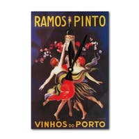 Ramos Pinto - Vintage Advertisement (Acrylic Wall Clock) - acrylic wall clock