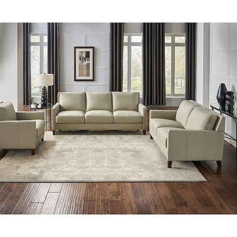 Hydeline Ashby Top Grain Leather Sofa Sets, Sofa, Loveseat and Chair