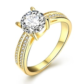 Madison Ave Inspired Gold Ring